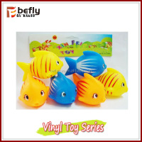 Hot sale kids funny vinyl fish toy