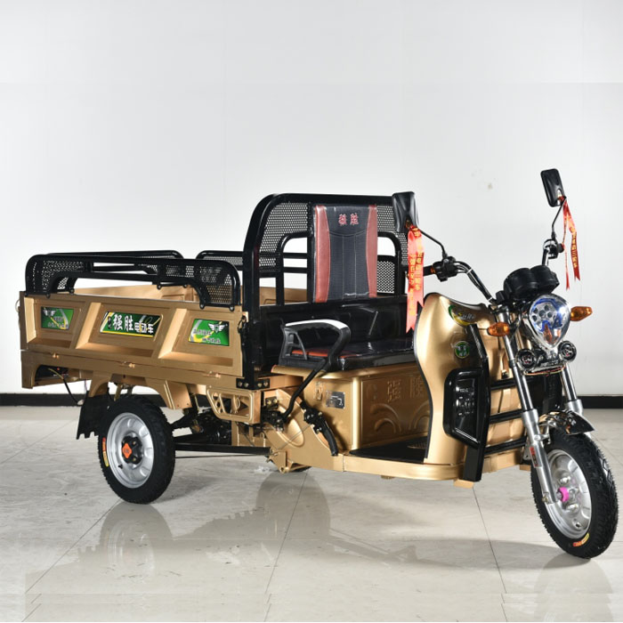 Electric Cargo Tricycle Battery Operated Loader E Cart