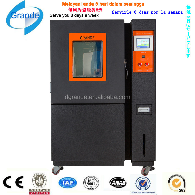 Programmable high low temperature thermal cycling test machine/thermal shock test chamber