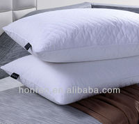 QUILTED MICROFIBER PILLOW 100% DOWN AND FEATHER PILLOW