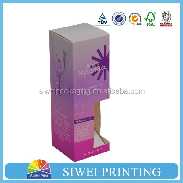 Logo Printed Wholesale Paper Candle Packaging Boxes,Box Packaging Paper,printed packaging box