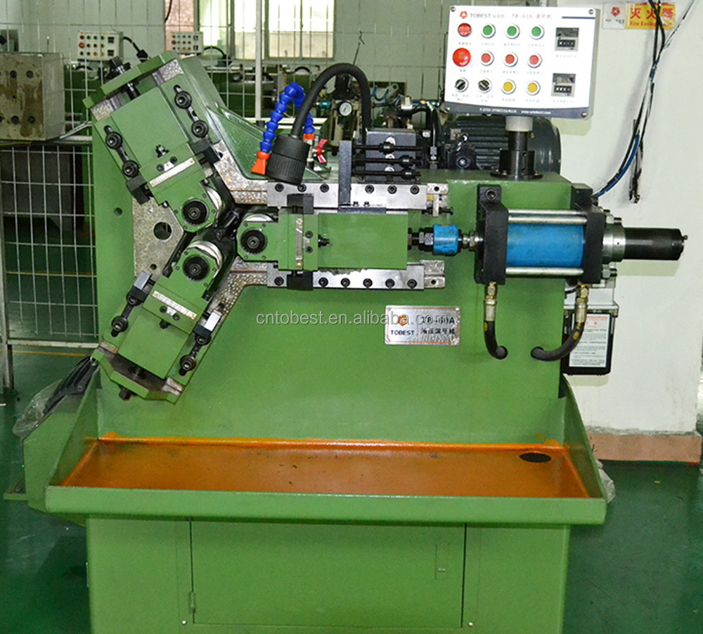 wedge anchor bolt manufacturing machine hydraulic pipe thread machine