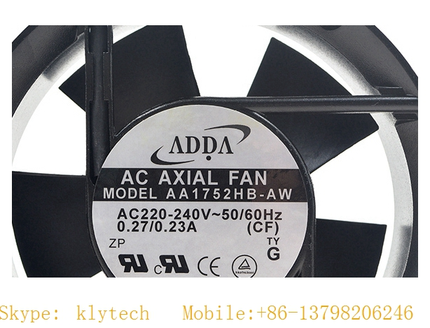 (new and original) ADDA AA1752HB-AW 17251 AC 220V 17CM AA1752HB-AT COOLING FAN