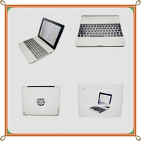 Portable Ultra slim Light 360 Rotatable bluetooth keyboard for ipad Compatible for Apple iPad 3/2
