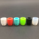 Funny 510 silicon drip tip the best price 810 tester rubber silicone drip tips colorful silicone vape mouthpiece wholesale