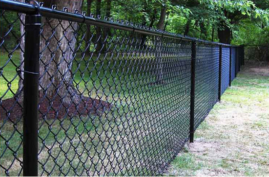 Alibaba china cheap galvanized chain link fence for sale ( diamond wire mesh)