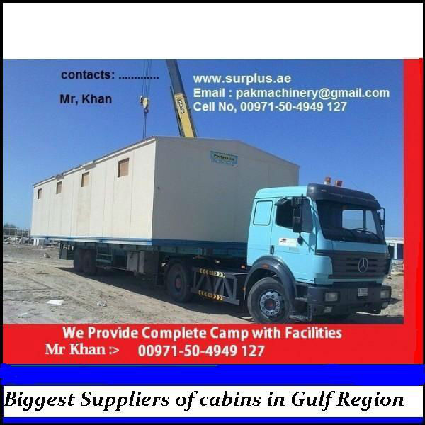 Prefab Houses or Portacabins for sale in UAE, OMAN and KSA