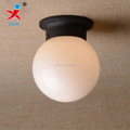 frosted opal white celing glass ball lamp shade/ glass ball for ceiling lamp