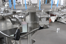automatic packing machine aseptic carbonation filler aerated water making machine