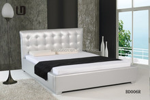 Germany standard,high headboard soft bed with pu leather and full size