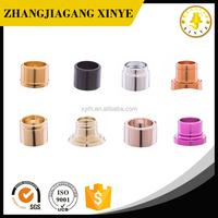 Fine perfume spray pump aluminum collar cap for perfume bottle