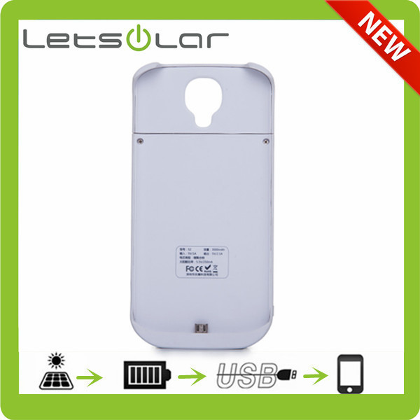 Best Quality mini solar charger case for Samsung Galaxy S4