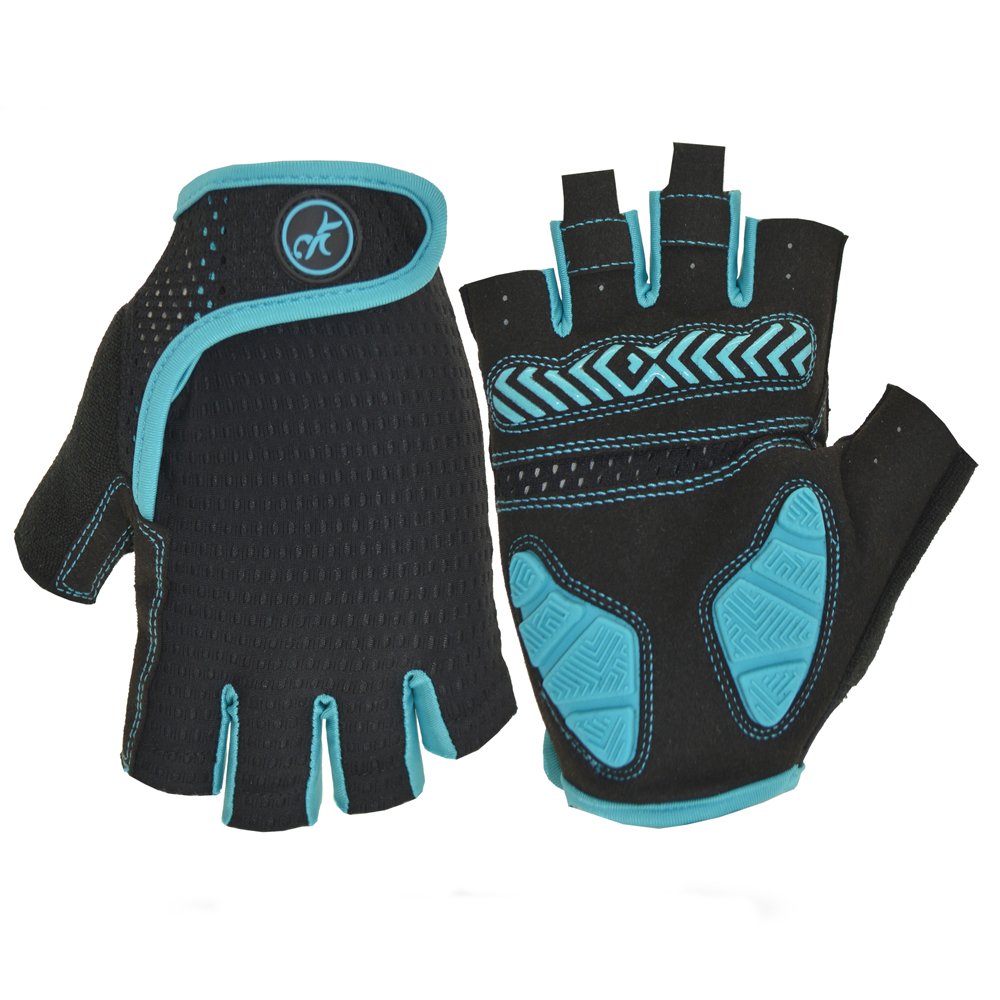 MOREOK Custom Cycling Antislip <strong>Shock</strong>-proof Short Finger Cycle Gloves