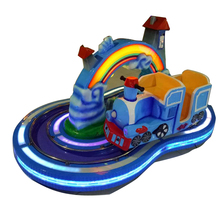 Indoor kids ride Rainbow train attractive kiddie rides electric train for amusement park