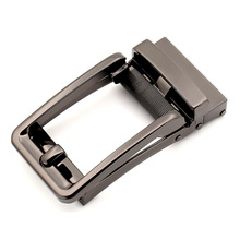 New Style Silver Comfort Click Belt Fancy Ratchet Buckle Blank for Men