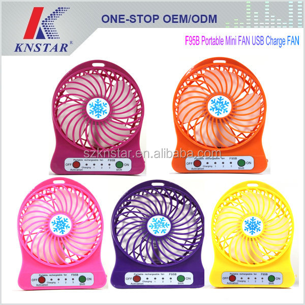Mini Rechargeable Fan Hand Fan USB Charging