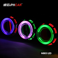 China Supplier LED Projector Lens Light Motor Parts Accessories Led Motorcycle Headlight
