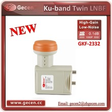 High gain new twin ku band lnb with best quality GKF-2332