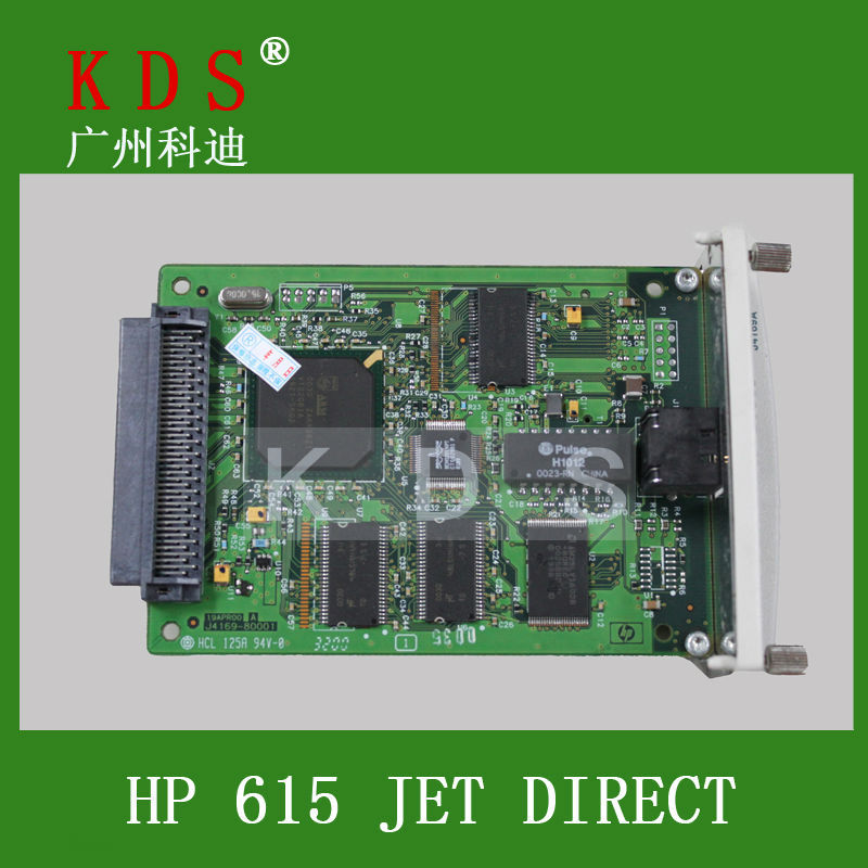 Jetdirect Card J6057A for HP JetDirect 615N, EIO, 10/100BaseTX J6057-60013