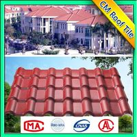 Environment Friendly Easy Installation Corrugated Plastic Spanish Roof Tile