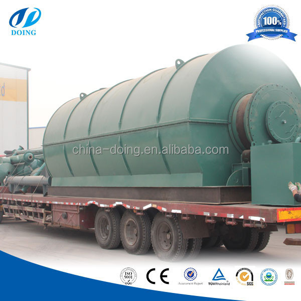 Renewable Equipment used tyre pyrolysis machine for tyre pyrolysis plant in pakistan