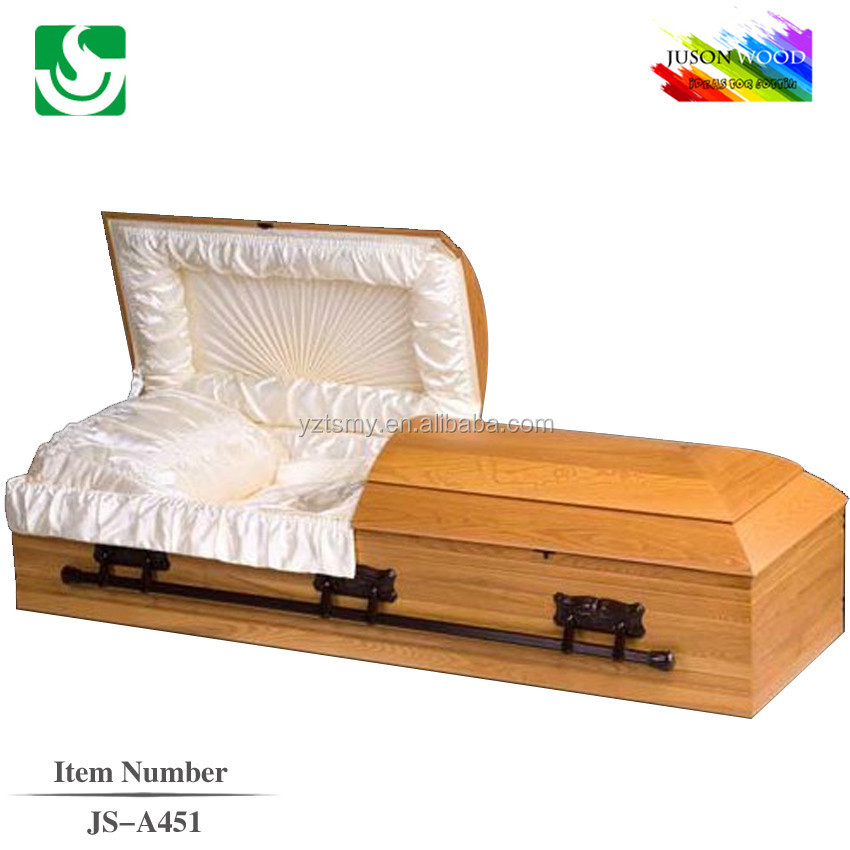 China supply simple funeral hand carved cheap burial funeral wooden casket