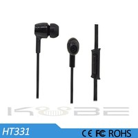 Universal silicon rubber earplugs ear phones for runners
