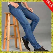 hot sale OEM own customize high quality factory price wholesale fashion business formal blue dress jeans design for men