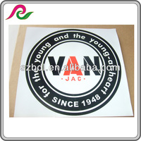 waterproof logo custom sticker
