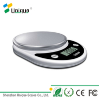 Hot sale Kitchen Scale, Stainless Steel Platform, 5kg x 1g Food or Fruit