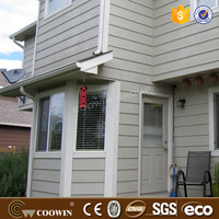 Low Cost exterior wpc Wall Panels composite clapboard
