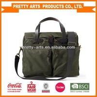hot new design good quality handbag shoulder bag briefcase laptop bag with leather handle