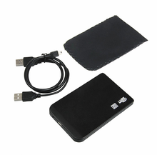 Slim USB 2.0 External Hard Disk Drive Case SATA 2.5 inch HDD Enclosure Support 1TB