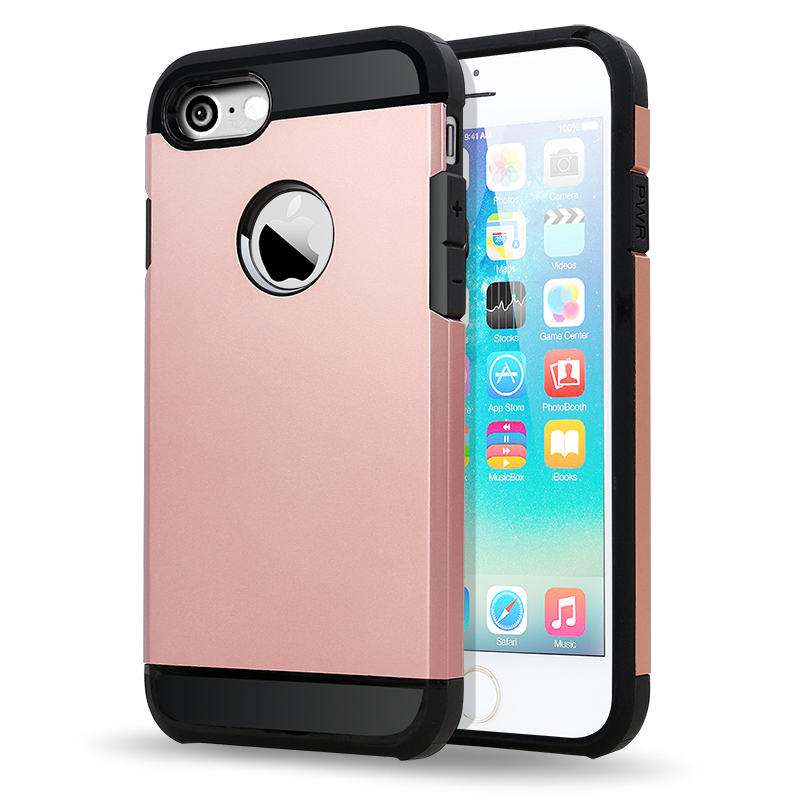 SUD Hot Selling 2 in 1 Hybrid TPU PC Slim Armor Protective Cover Case For iPhone ipad mini ipad5