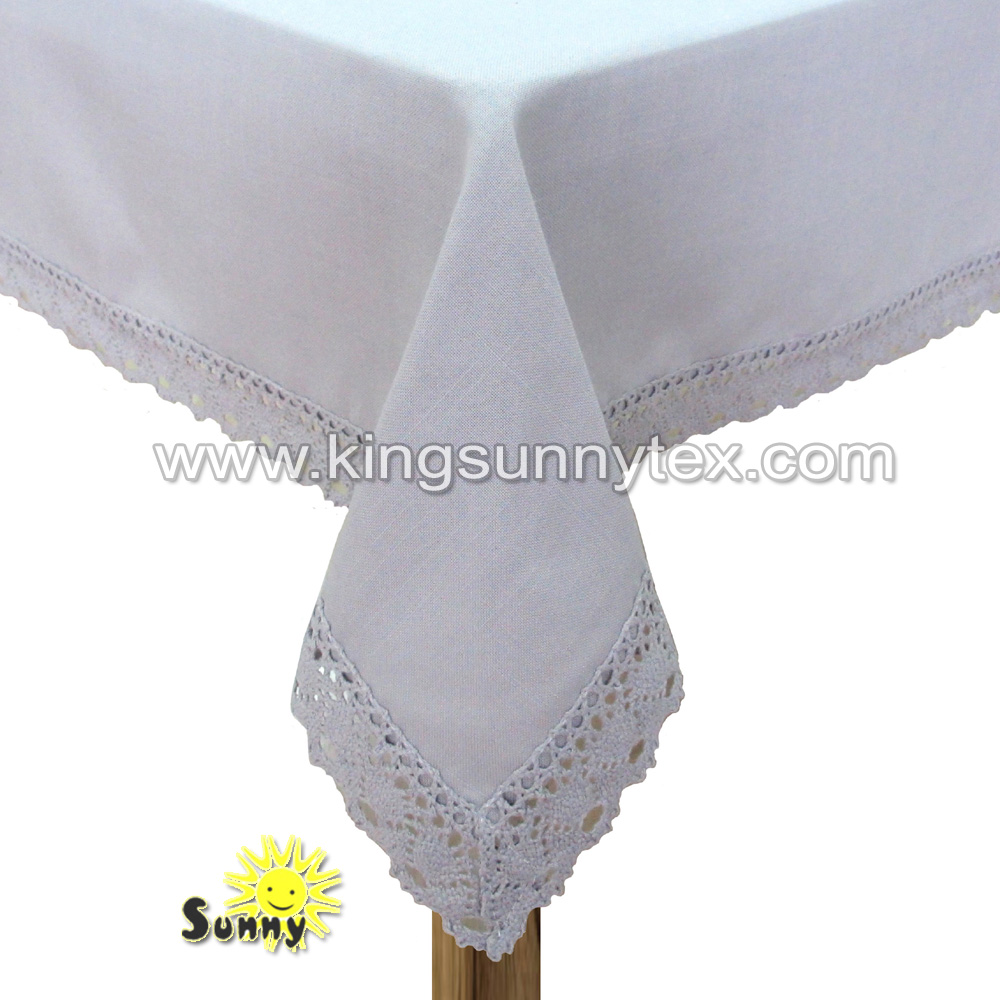 wholesale fancy dining lace table cloth