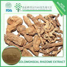 Factory supply in Solomonseal Rhizome Extract with 5:1 made in china