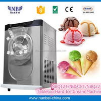 Tabletop har ice cream members mark ice cream maker