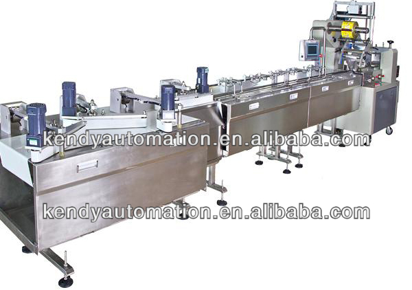 All stainless steel pastry automatic feeding and packing system
