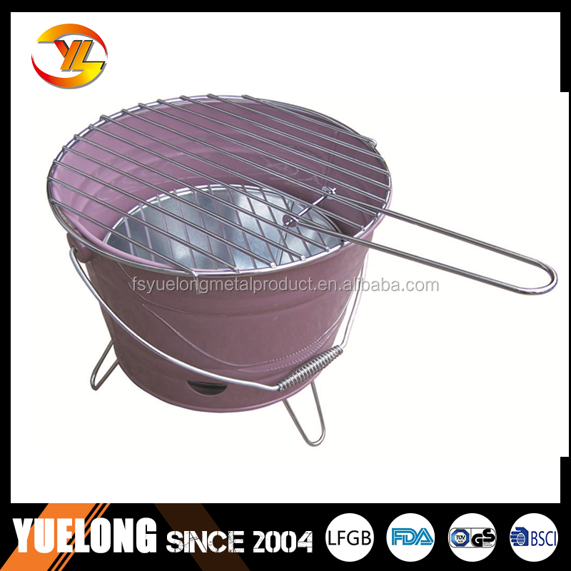 Charcoal bucket BBQ grillYL1604R.