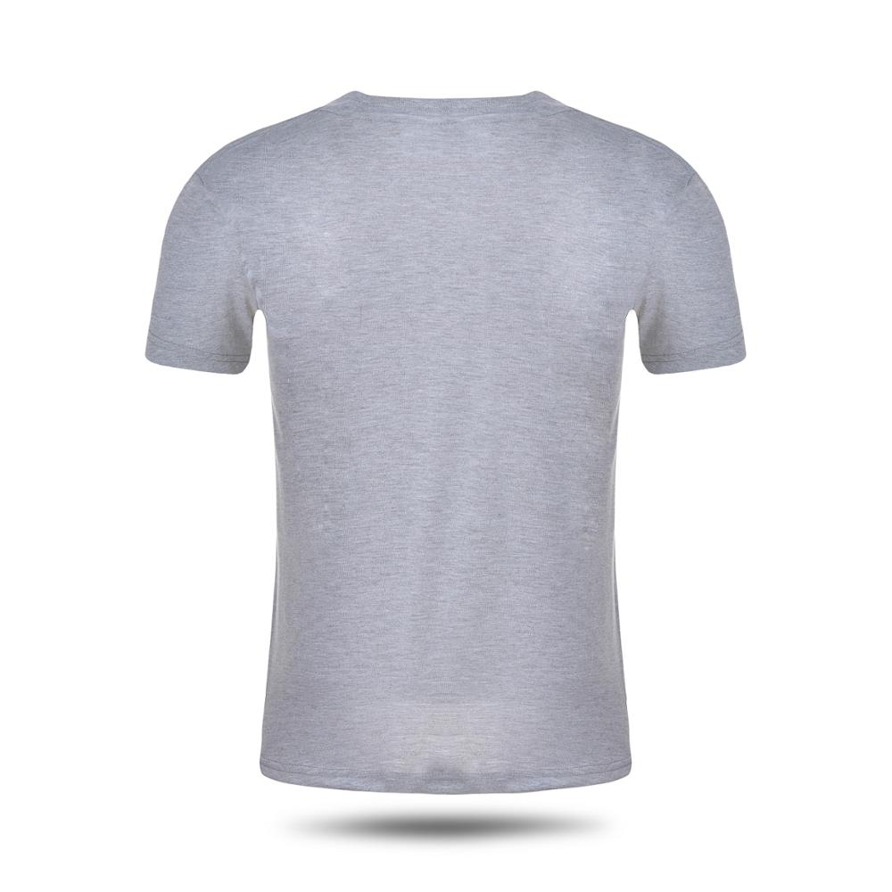 Promotional white plain custom t-shirt