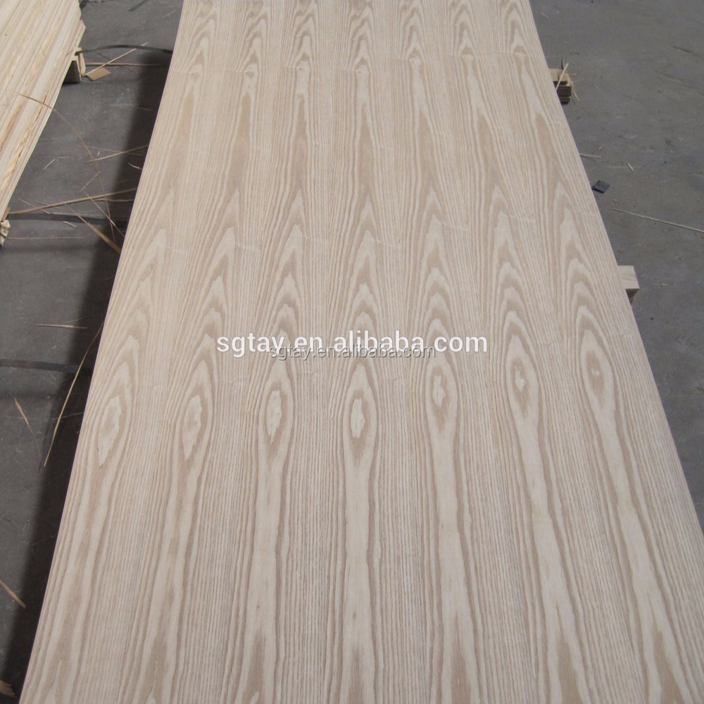 3 mm/5mm/8mm thickness ash veneer MDF in Linyi