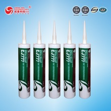 CJ777 superior weather proof high density silicone sealant special use for Windows/doors and aluminum plate/ curtain wall