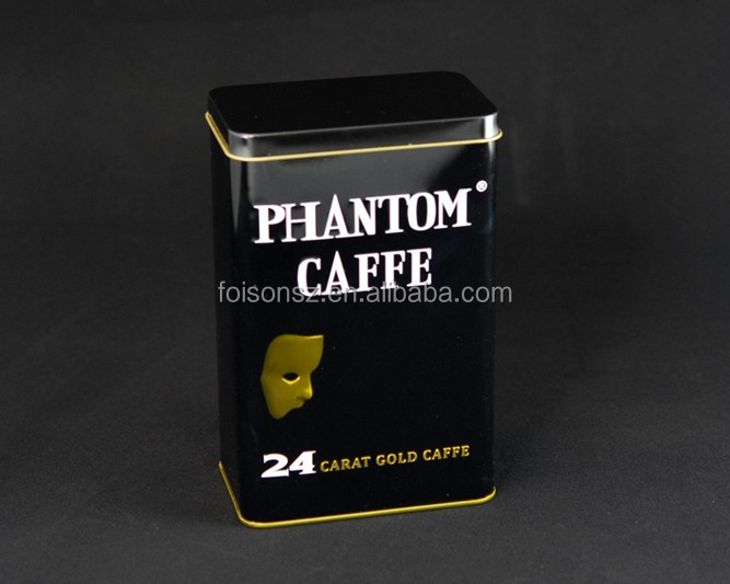 vintage CMYK printing for coffee tin can tin box packaging