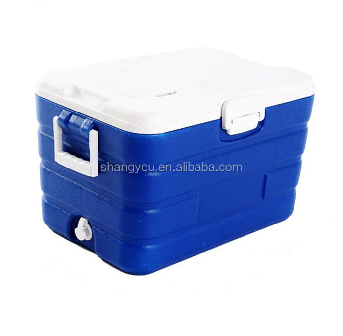 40L insulated plastic SY beverage ice cooler box