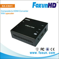 Factory provide RCA to HDMI converter with the Upscaler