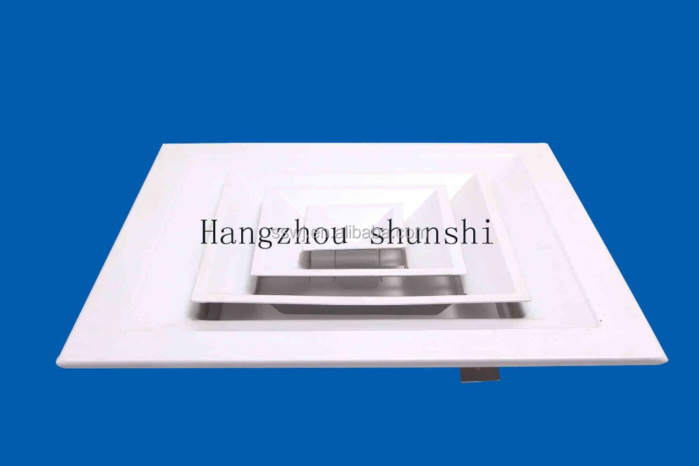 high toughness durability air grill used for central air-conditioning difficult deformation