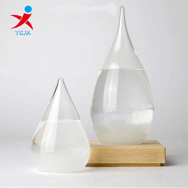Tear Drop Glass Weather Predictable Forecast Liquid Glass Barometer