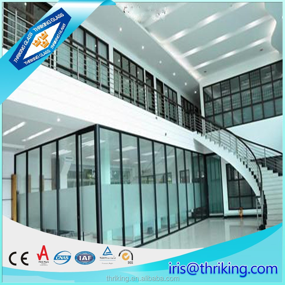 Noise resistance glass for windows or curtain wall, soundproof glass prices