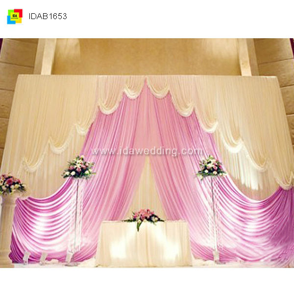 China dreamlike twinkle events supplier dreamy wedding/banquet supplies backdrop bead decoration man curtain for African market
