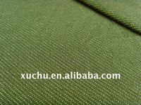 plain dyed poly denim fabric